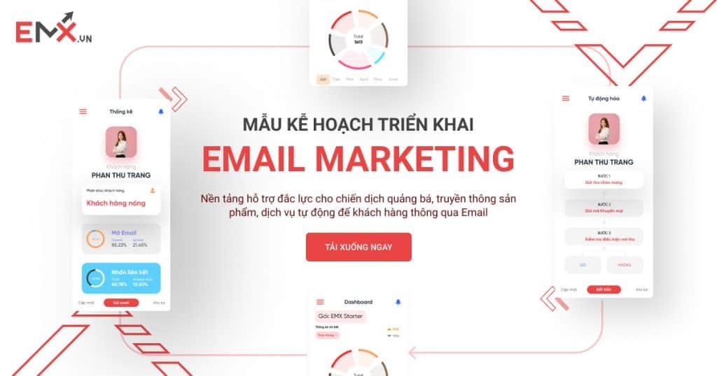 mau ke hoach trien khai email marketing